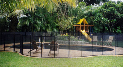 KinderGuard pool Fences, Self Closing Gates Child Pool Fences